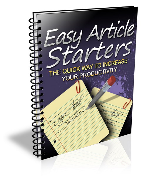 Easy article writer